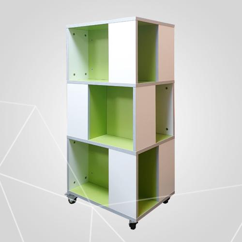 위드 디자인 서가 큐브형